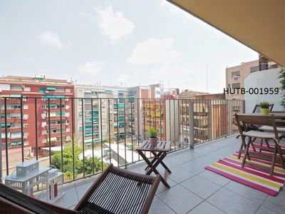 Photo for Apartment 163 m from the center of Barcelona with Internet, Air conditioning, Lift, Terrace (443460)