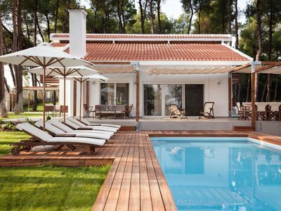 Photo for Exclusive superluxurious villa in Sani