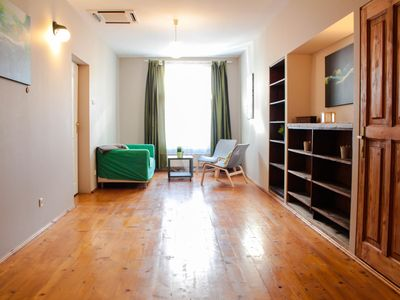 Photo for Piano apartment in Stare Miasto with WiFi & air conditioning.