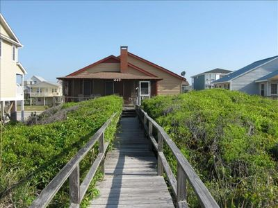 Photo for Oceanfront Classic Beach Cottage - Harley's Better Half
