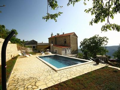 Photo for Grižane house for 6 - 12 people with 5 bedrooms - cottage