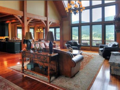 Photo for The Retreat-Luxurious Mansion in Brights Creek between Tryon & Hendersonville,NC