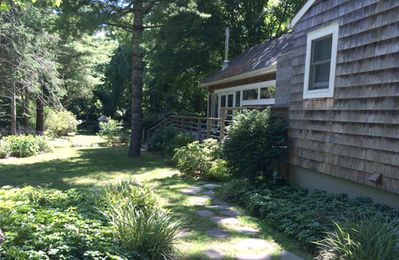 Photo for Beautiful, Secluded East Hampton House; a Walk to Town