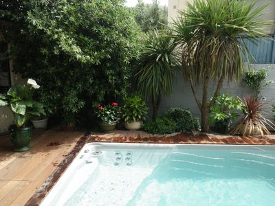 Photo for Arcachon, 4 **** charming villa with spa for 8p, near Eyrac beach