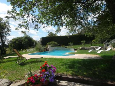 Photo for Holiday villa with private pool - Haut Var - Provence