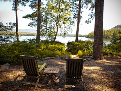 Photo for Squam Lake, Spectacular Mountain Views, Perfect Vacation Retreat.