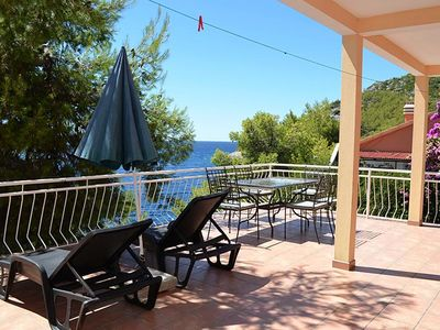 Photo for Two bedroom apartment near beach Prižba (Korčula)
