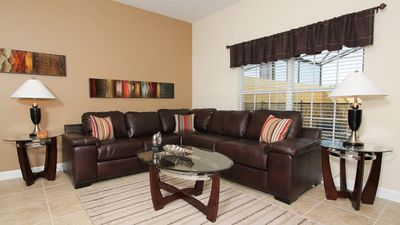 Photo for Disney On Budget - Paradise Palms Resort - Beautiful Relaxing 4 Beds 3 Baths  Pool Villa - 4 Miles To Disney