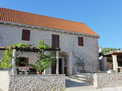 Photo for House in Donji Humac (Brač), capacity 6+2