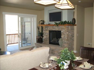 Photo for Kirkwood Luxury Condo - Right on the Slopes - Large Kitchen/Dining/Living Area