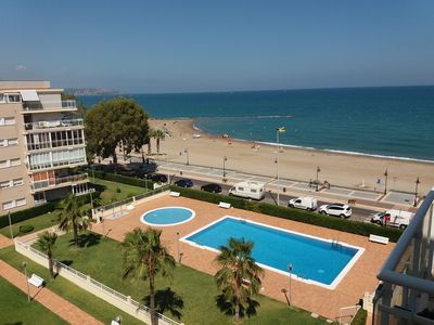 Photo for BENICASIM WATERFRONT PENTHOUSE APARTMENT. PENTHOUSE IN FRONT OF THE SEA IN FIRST LINE.