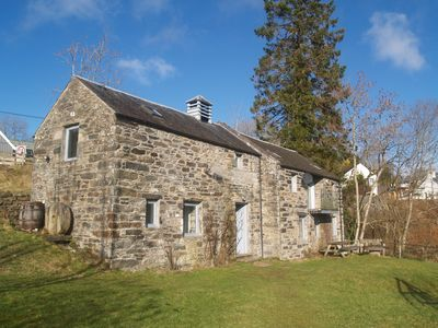 Photo for Converted mill with stunning views across Loch Tay