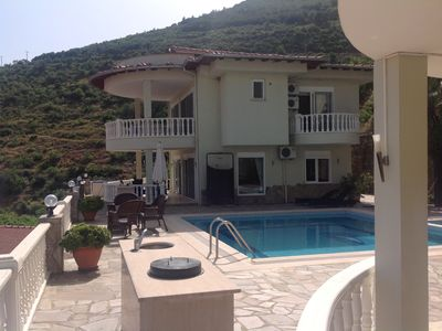 Photo for Heavenly villa with amazing views . Alanya is an amazing town . Many speak Engl
