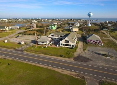 Aerial View of Stowe on 12 Located at 56910 NC Hwy 12