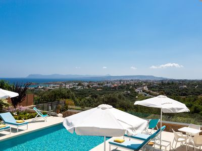 Photo for Panoramic sea views in perfect holiday location next to the city and sandy beach