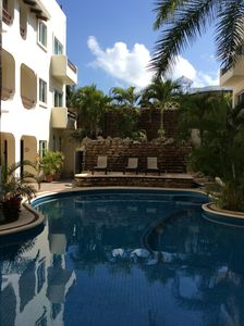 Photo for 2 bed 2 bath condo in the heart of Playa del Carmen.