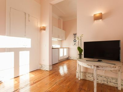 Photo for Spacious Chic Cozzy apartment in Bairro Alto with WiFi.