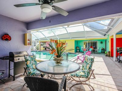Photo for Amazing GULF ACCESS #B 2-bedroom w/ Heated pool and Boat Slip!