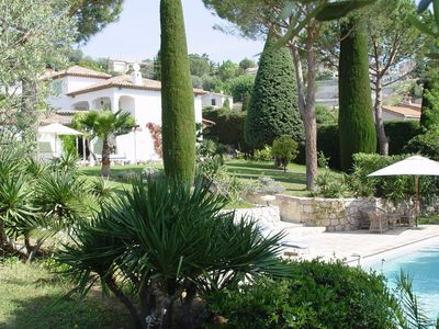 Photo for Luxury villa 7 km from the Mediterranean Sea and the famous resort of Cannes.