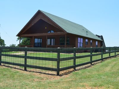 Photo for Country Cabin getaway on 100 acres!