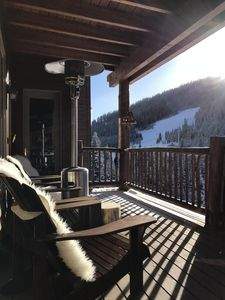 Photo for Serene 2 BR ski-in/ski-out in Big Sky
