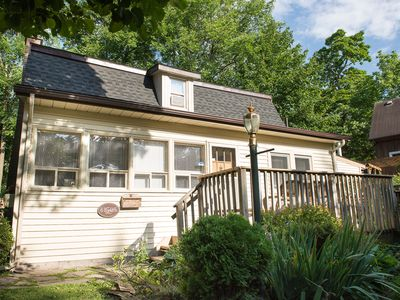 Photo for Cottage, pet friendly, best sunsets and king bed, wifi! bbq / grill, parking