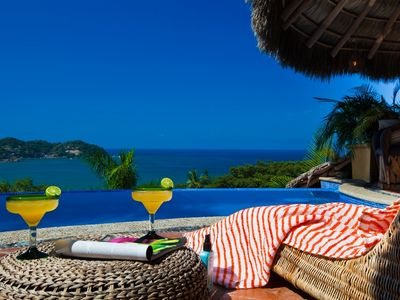 Photo for Ocean View Tropical Luxury Villa- June, July, Aug.  Summer  Specials available!