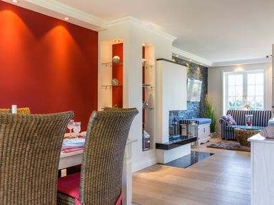 Photo for Luxurious semi-detached house with terrace, fireplace and Wi-Fi in a prime location, at the village pond 18b