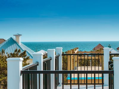 Photo for Brand New-spectacular gulf views and observation deck, 2.5 blocks from the beach