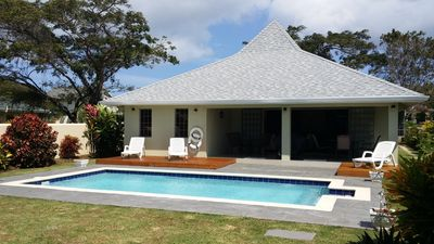 Photo for TRADEWINDS VILLA - Architectural Designed Villa Near Beautiful Beaches