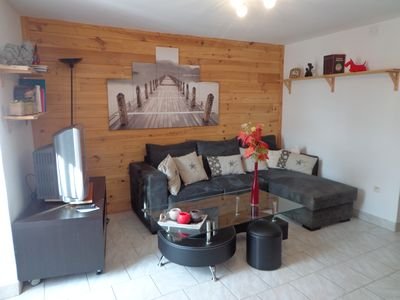 Photo for Nice and bright apartment downtown Briançon