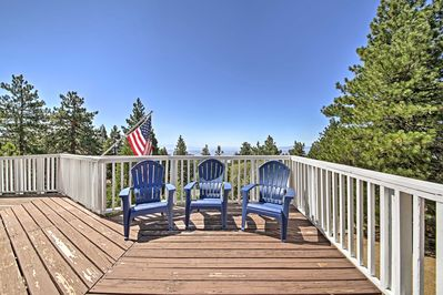 Discover the majestic San Bernardino Mountains from this 3-bedroom, 3-bathroom Running Springs vacation rental cabin!