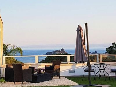 Photo for Homerez last minute deal - Amazing studio with sea view and Wifi