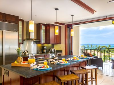 Photo for 7th Floor Ko Olina Beach Villa - Views, Pool, Beach, Free Wifi!