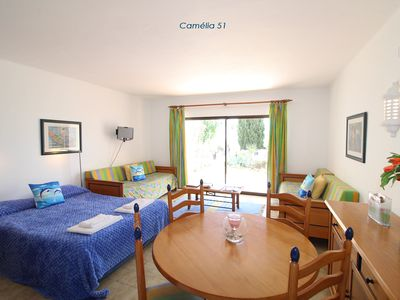 Photo for Sao Rafael Apartment, Albufeira - Camelia 51 (Studio, Sleeps 2/4)