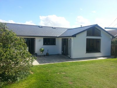 Photo for Light And Airy Luxury Holiday Home Within Walking Distance Of Polzeath Beach