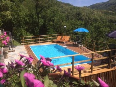 Photo for Holiday house Bagni di Lucca for 1 - 9 persons with 3 bedrooms - Holiday house