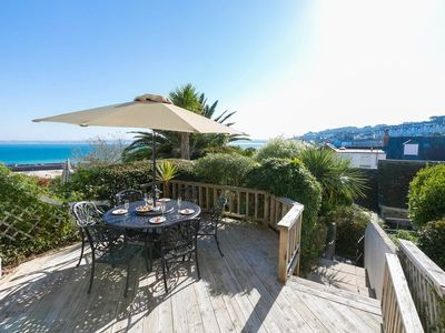 Photo for Stunning Town House in St Ives sleeping 6 with sea views and garden