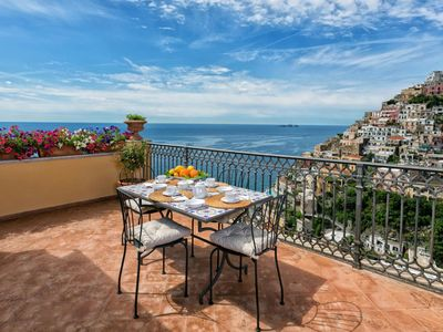 Photo for Casa Praiano only 5 minute walk from Positano downtown, sleeps up to 4.