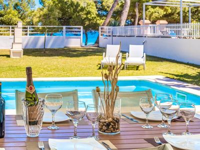 Photo for Marvelous Holiday Home Gemelos, 6pax , in front of the Sea and specially equipped for cyclists.