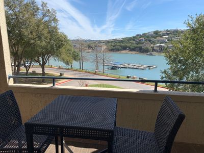 Photo for VILLA 2206 - Large Patio w/ Private Grill & Lake/Hill Country Views @ Island Resort