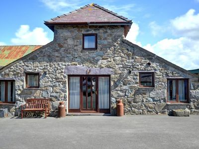 Photo for Converted barn in rural setting offering great views of Caernarfon Bay