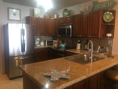 New stainless appliances and a fully outfitted kitchen for all the comforts of home.
