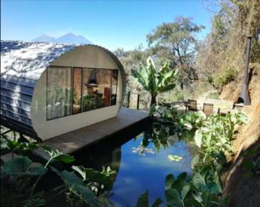 Casa Coi: Exclusive Dome House Experience with Volcano Views