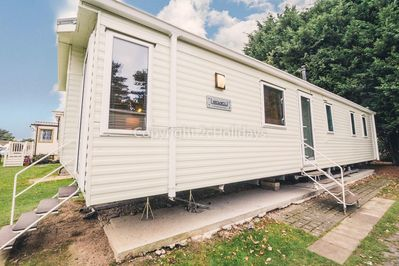 8 berth luxury caravan at the Wild Duck Holiday Park.