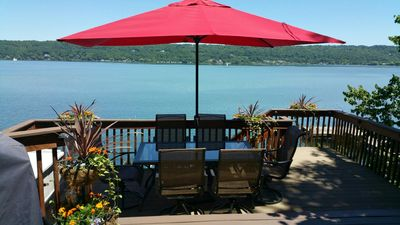 Photo for Charming Cayuga Lake Front Cottage