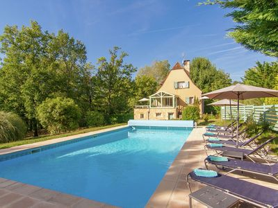 Photo for Beautiful Villa with Private Pool in Masclat