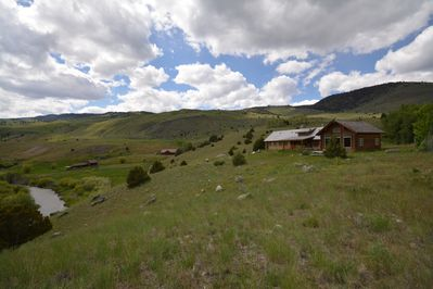 House with view of Canyon Creek Ranch and Tom Miner Creek.