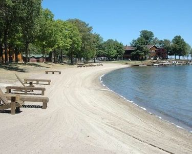 Photo for Priceless Beach Front Views of Leech Lake, Large Beautiful Condo