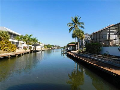 Photo for Yachtsman Cove walk to beach, Tennis, amazing water view with boardwalk!